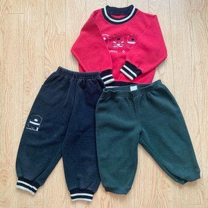 Infant Boy's Sweater Sweatpants Casual Set